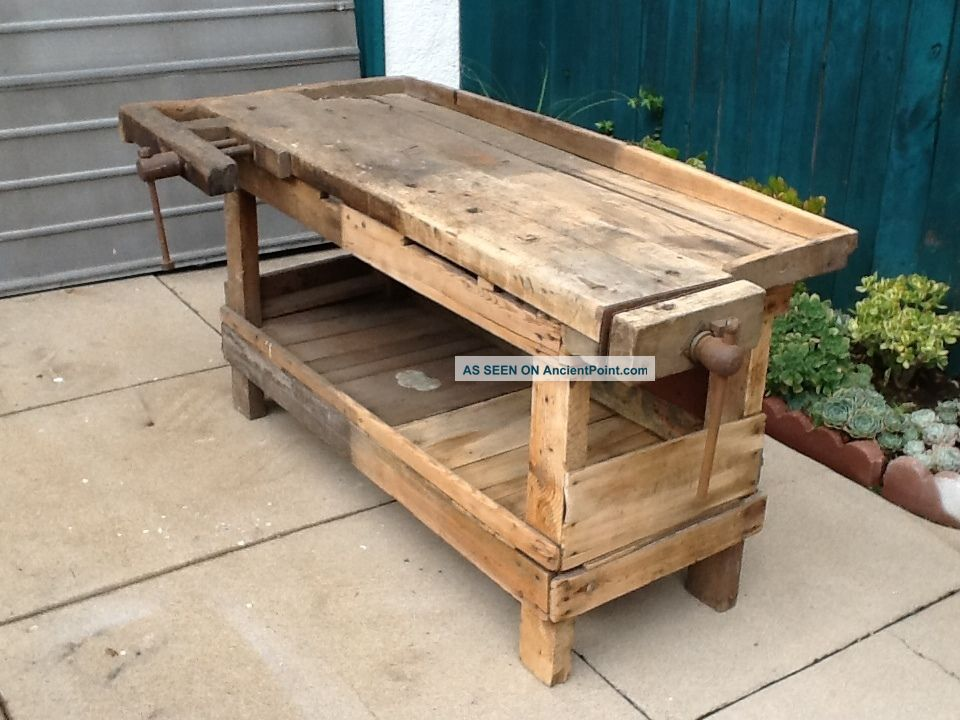 Perfect PDF DIY Antique Woodworking Bench For Sale Download