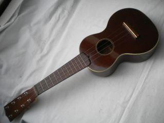 Vintage C.  F.  Martin Style 2 Taropatch 8 String Ukulele Uke Concert Uke Size Body photo