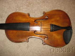 Old 4/4 Joseph Guarnerius Violin Good Condition photo