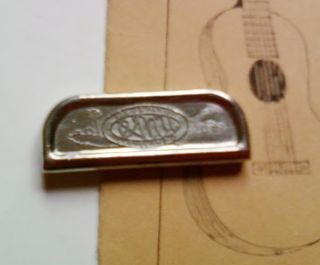 Rare Vintage Oahu Tone Bar/slide For Lap Steel Guitar - 1950`ish,  Great Shape photo