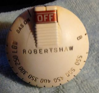 Vintage O ' Keefe & Merritt,  Wedgewood Robertshaw Gas Oven Control Knob photo