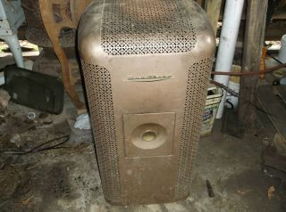 Vintage Duo Therm Oil Burning Stove Heater Furnace Kerosene Antique photo