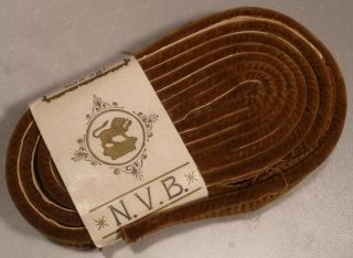 Vintage Velvet Binding For Sewing photo