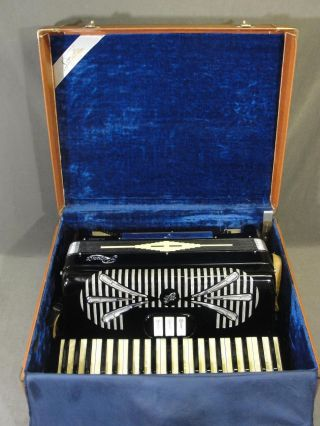Vintage Sinola Rivoli Accordion Perfect Ready - To - Play Nr Case photo