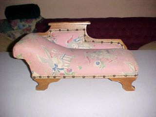 Vintage Antique Toy Fainting Couch photo