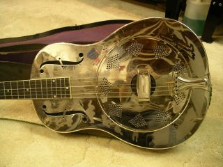 1932 Nationial Series O Resonator Steel Guitar And Case photo