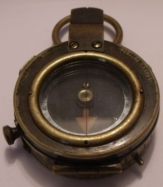 World War I Compass A.  West And Partners London 1918 Verner ' S Pattern Viii photo