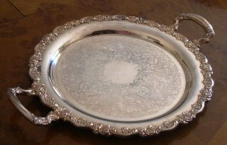 Oneida Silverplate Serving Platter photo