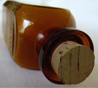 Antique Gross & Delbridge Medicine Bottle With Whooping Cough Label (148) photo