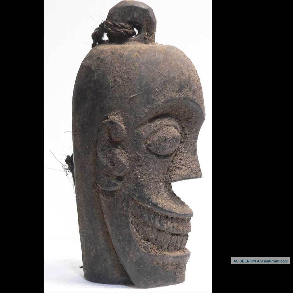 Antique Ancestor Head Skull Statue Dayak Borneo Indonesia Tribal Art ...