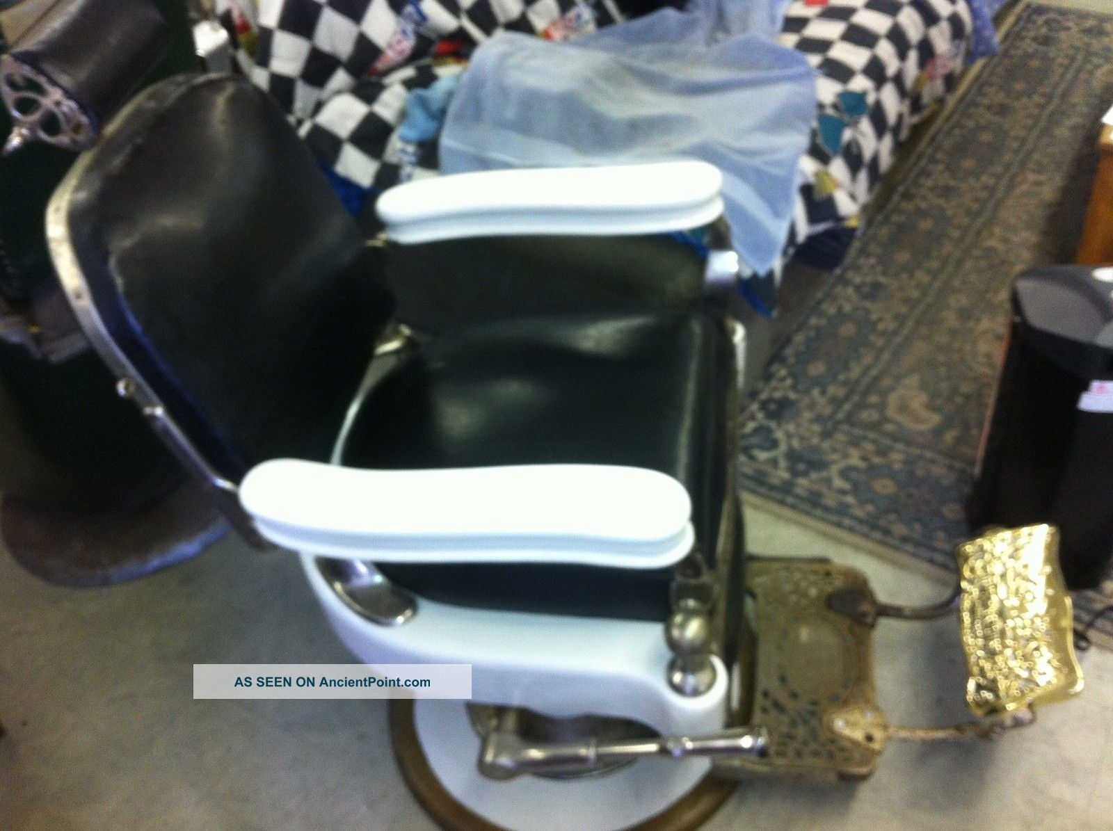 Theo A Kochs Antique Barber Chair In Great Shape 1918 ? 1919? Barber Chairs photo