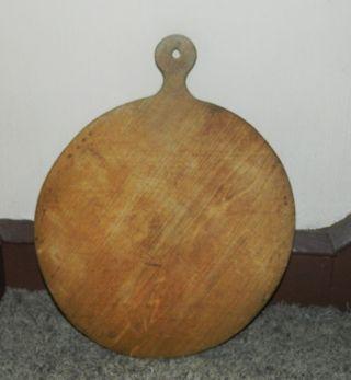 Antique Primitive Cutting Board Dough Board Huge 22