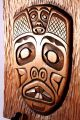 Pacific Northwest Native American Beaver Wood Wall Plaque - Signed Maury Clark Native American photo 5