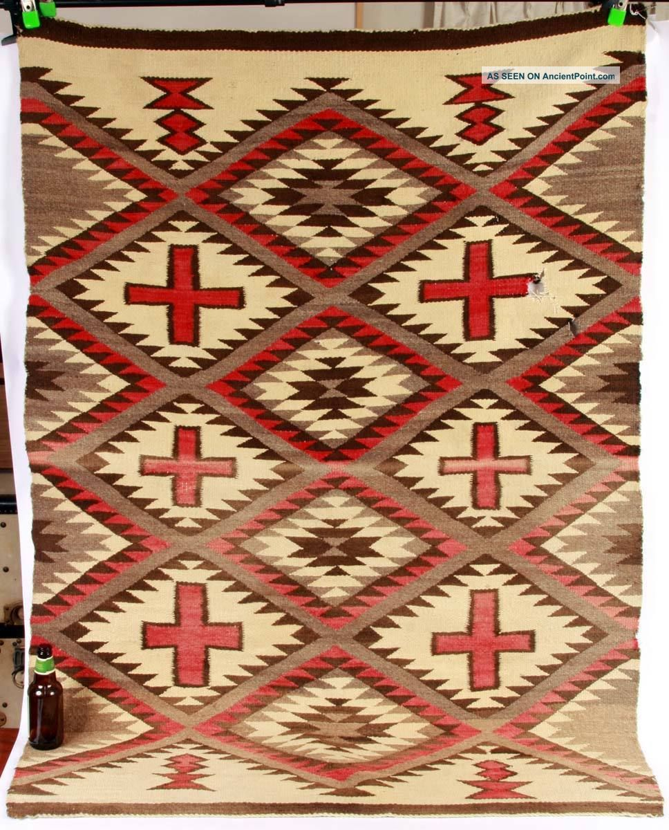 Early 1900 ' S Navajo Rug Native American photo