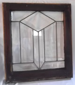 Antique Vintage Leaded & Beveled C1915 Arts & Crafts Windows 5 Available Mint photo