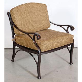 Great Charleston Chenille Sunbrella Dining Arm Chair photo