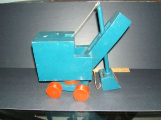 1930 ' S Wooden W.  P.  A Project Educational Crane Designed By George Burns photo
