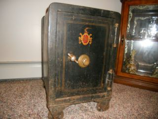 Antique Meilink Safe With Combination photo