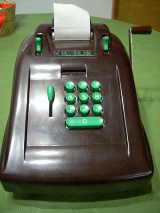 Art Deco Victor Adding Machine - Bakelite photo