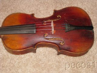 Vintage Full Size Stainer 4/4 Violin/fiddle Flame photo