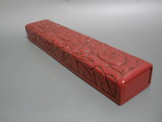 Awesome Red Lacquer Box & Chopstick photo