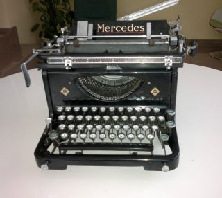Mercedes Express S 6 Typewriter Made In 1935 (working As It Should) photo