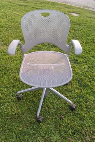 Ex Cond Model Wc121p Herman Miller Caper Stumpf Xr Multipurpose Task Chair photo