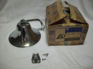 Vintage K - S Marine Products Boat Fog Bell 6