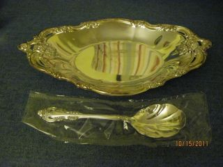 Silverplate By Oneida - 2 Piece Party Set (new) photo