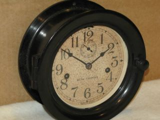 Seth Thomas Ww2 Deck Clock 6