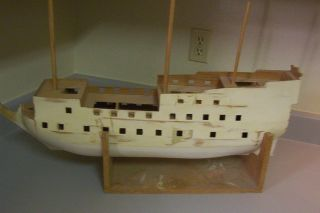 Steingraeber Wooden Ship Kit.