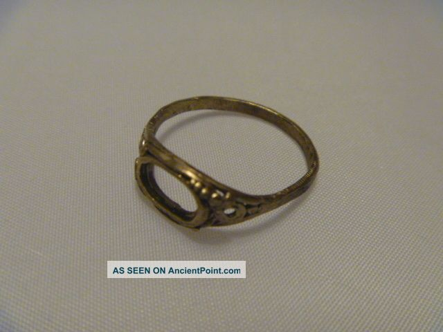 Lovely Detailed Gold Ring,  Metal Detecting Find,  Saxon / Viking / Medieval Other photo