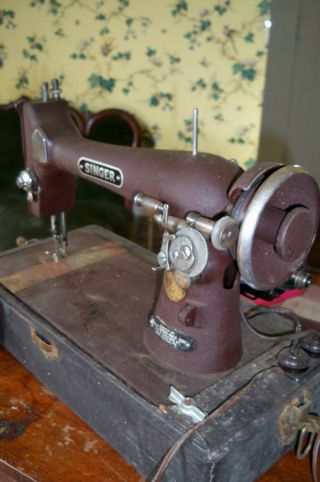 Antique Singer Sewing Machine photo