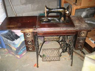Singer Vintage Sewing Machine photo