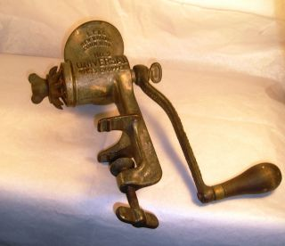 Antique Food Grinder G48 photo
