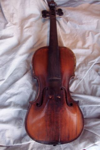Fine Composite 18th Century Violin,  Possibly Italian photo