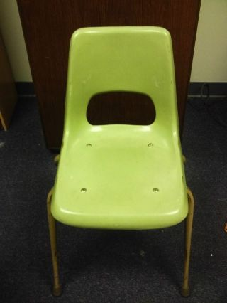 Vintage Retro Brunswick Bowling Alley Chair Very Cool Retro Look See Photos  Photo