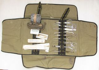 Wwii 1940 German Wehrmacht Surgical Medical Set photo