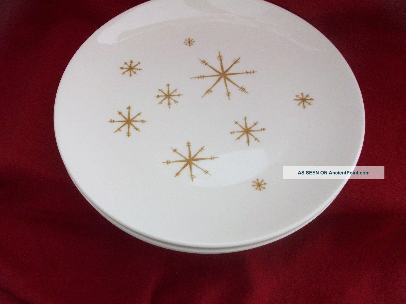 Vintage 1950 s quot atomic quot dinner plates
