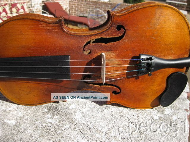 Vintage Full Size Stainer 4/4 Violin/fiddle Flame String photo
