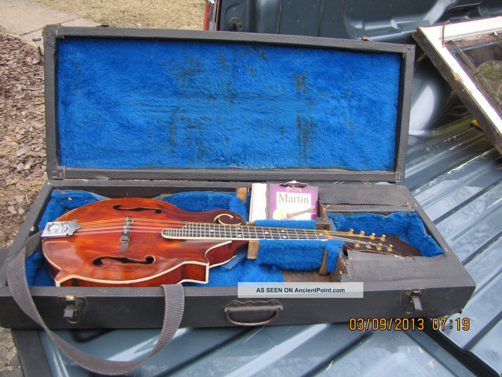 Gibson F5 Style Madolin Made By Owen Denton Of Newport Kentucky String photo