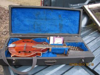 Gibson F5 Style Madolin Made By Owen Denton Of Newport Kentucky photo