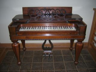 Vintage Carhardt And Needham Antique Organ,  Mid 19th C. photo