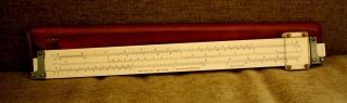 Antique Keuffel & Esser Slide Rule 4088 - 3 Polyphase Duplex 1908 photo