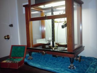 Antique Analytical Balance photo