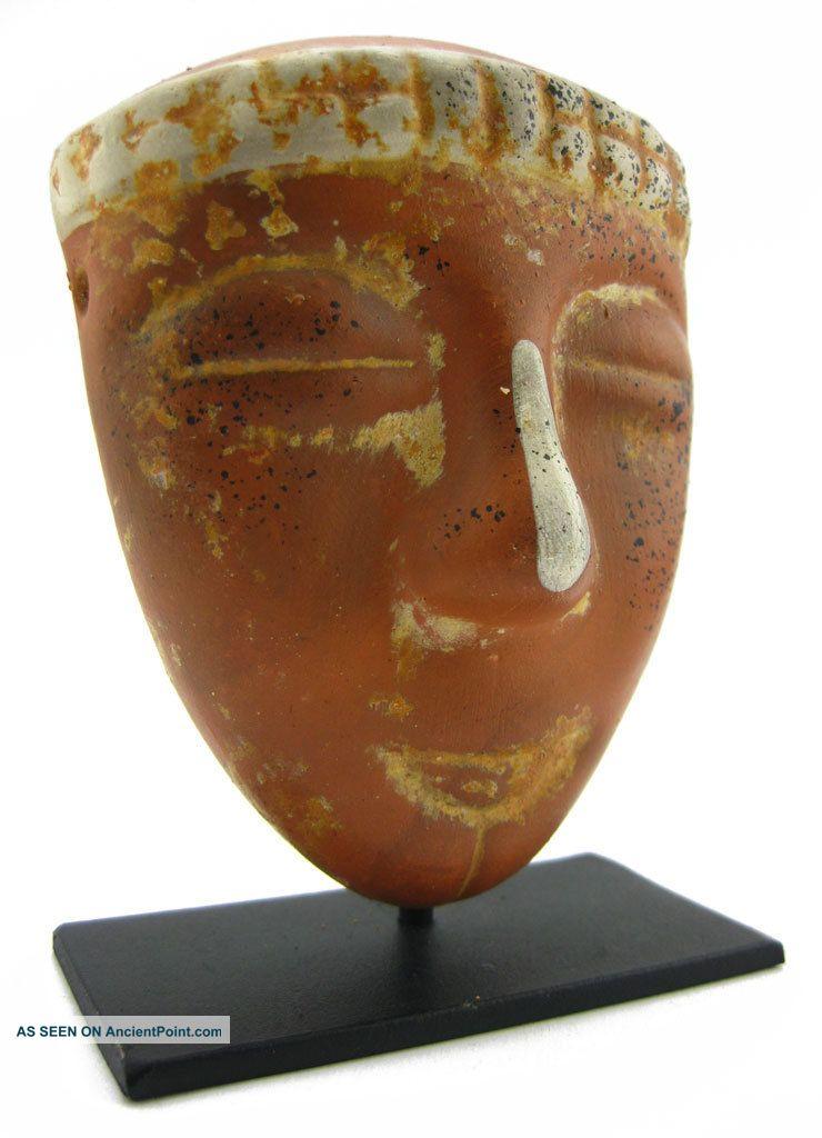 Pre - Columbian Mascara / Quimbaya Mask Reproduction The Americas photo