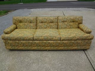 Vintage Mid - Century Modern Eames Era Berne Dunbar Sofa Couch Lounge Indiana 1961 photo