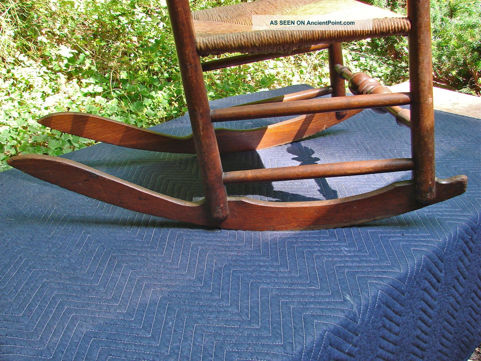 Antique Slat Back Rocking Chairs