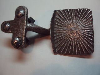 Early Metal Buggy Carriage Step With Star Marking photo