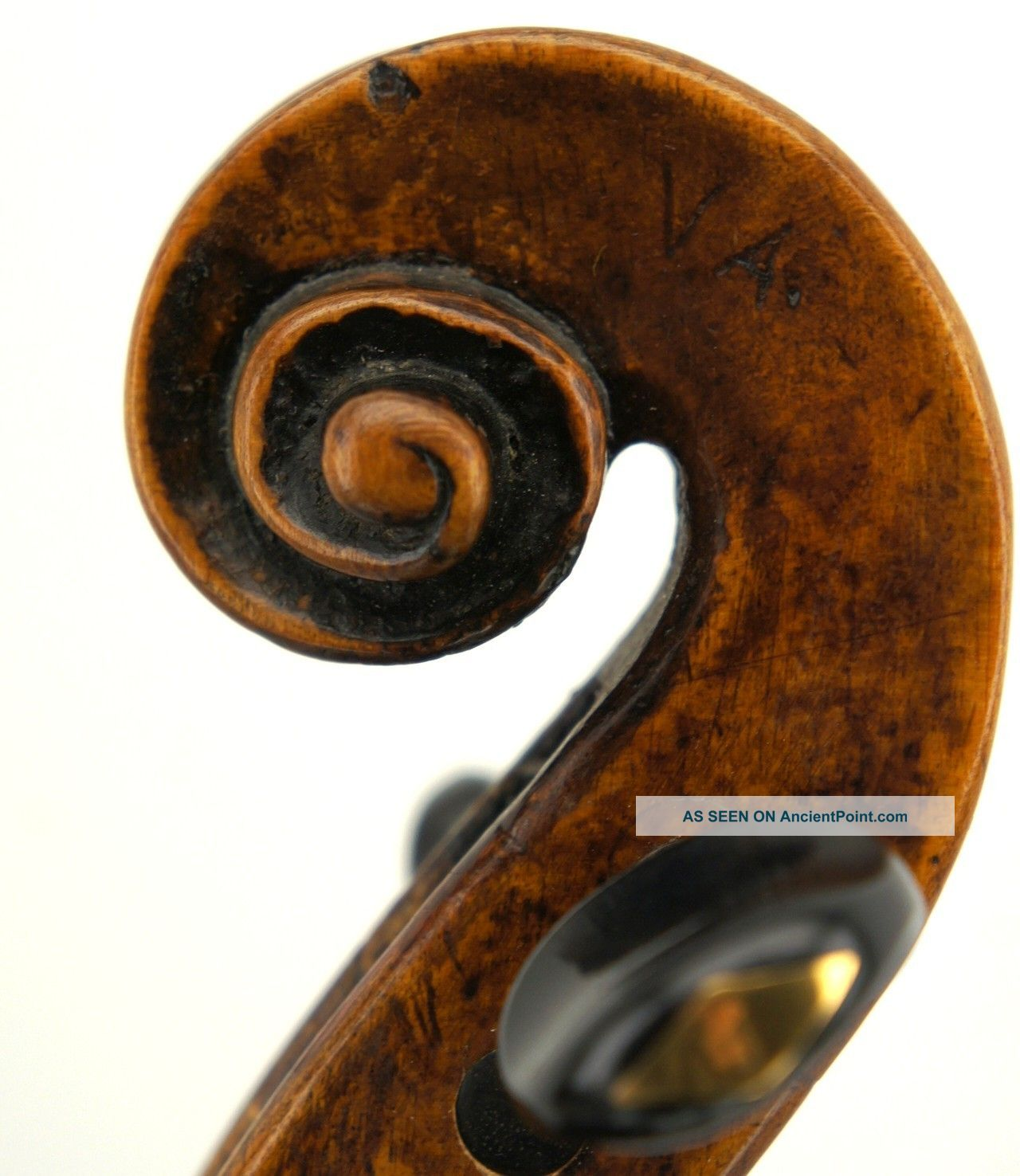 Very Old And Interesting18th Century Violin,  Grafted Scroll,  Ready - To - Play String photo